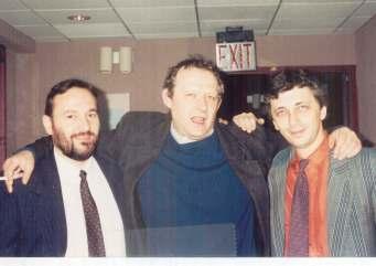 1994, Polonia, cu Adam Michnik si Mircea Mihaies