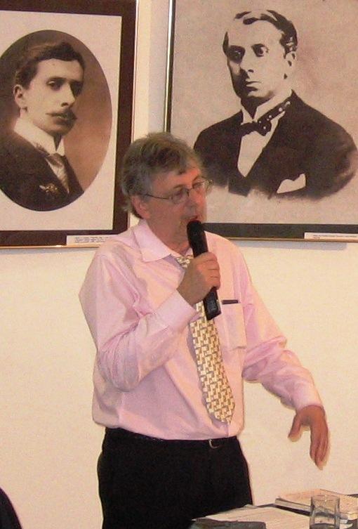 Conferinţă la Muzeul literaturii române, iunie 2009